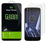 [2-Pack] Dmax Armor for Motorola Moto Z Play/Moto Z Play Droid Screen Protector, [Tempered Glass] 0.3mm 9H Hardness, Anti-Scratch, Anti-Fingerprint, Bubble Free, Ultra-Clear