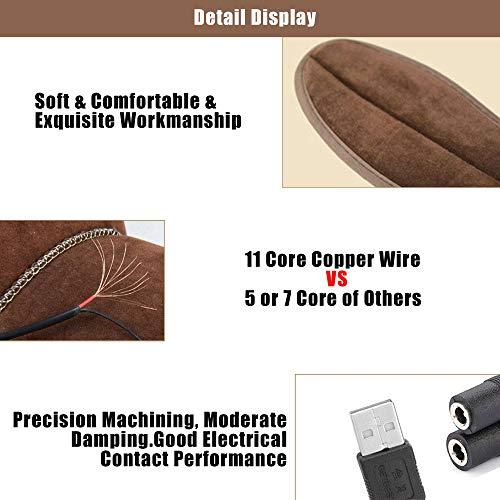 Semelles chauffantes, Semelle chauffante Electrique USB, Semelles Pieds Warmers, Semelles...