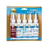 Aleene's Tacky Pack Fabric Glue, 5pk, 3 Fl Oz