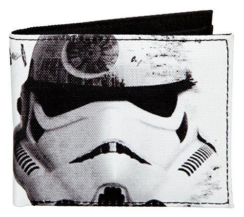 Undercover SWTS7720 portemonnee, Star Wars Storm Trooper, ca. 11 x 9 x 1 cm.