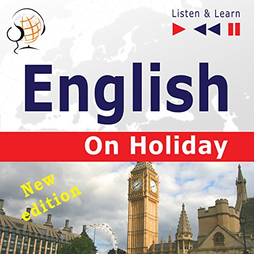English - New edition - On Holiday. Proficiency level B1-B2 audiobook cover art