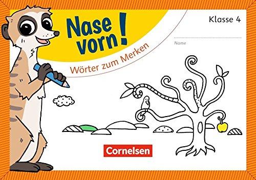 Nase vorn! - Deutsch / 4. Schuljahr - Wörter zum Merken: Übungsheft