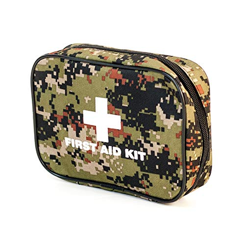 BRAZT Tragbare Erste-Hilfe-Kit, Klein Rettungs-Taschen Mit 20 Artikeln 50 Stück Medical Grade-Produkt, Trauma-Medizin-Speicher Für Auto-Haus Im Freien