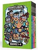 Minecraft Woodsword Chronicles Box Set Books 1-4 (Minecraft) (A Stepping Stone Book(TM))