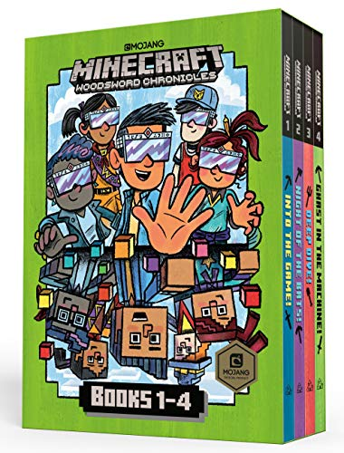 Minecraft Woodsword Chronicles Box Set Books 1-4 (Minecraft) (A Stepping Stone Book(TM))