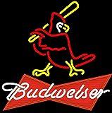 Desung New 20'x16' St Louis Sports Team Cardinal Budweisers Bowtie Neon Sign (Multiple Sizes) Man Cave Bar Pub Beer Handmade Neon Light FX94