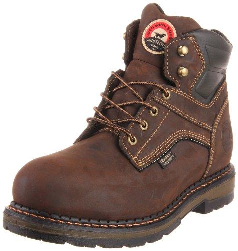 "Irish Setter Work mens 83600 6"" Aluminum Toe Work Boot,Brown,10 D US"