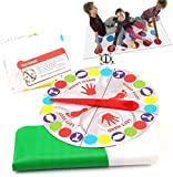 Mr.LQ Dult Children's Body Twisting Toy Balance Game Pad Party Big Carpet Juego de Mesa Juego de Entretenimiento Interactivo