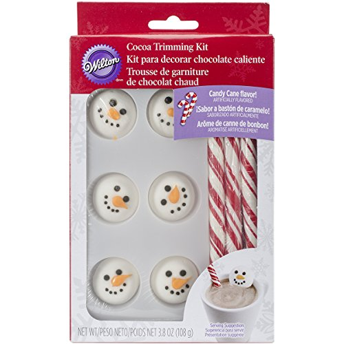 Wilton Snowman Cocoa Trimming Kit