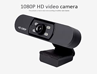 HD 1080P Webcam, AUAAQ USB Computer Web Camera, Night Vision Video Cam for Streaming Gaming Conferencing for Windows PC Laptop YouTube