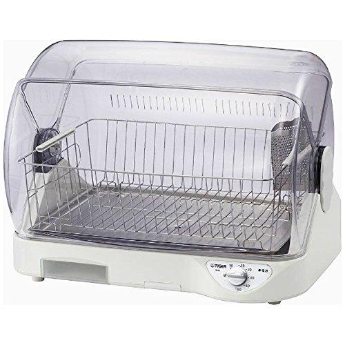 タイガー 食器乾燥器(ホワイト)TIGER サラピッカ 温風式 DHG-S400