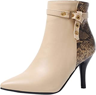 Details zu Fashion Boots Stiefel Damen Schuhe Kneehohe Stiefel Keilabsatz Kunstleder