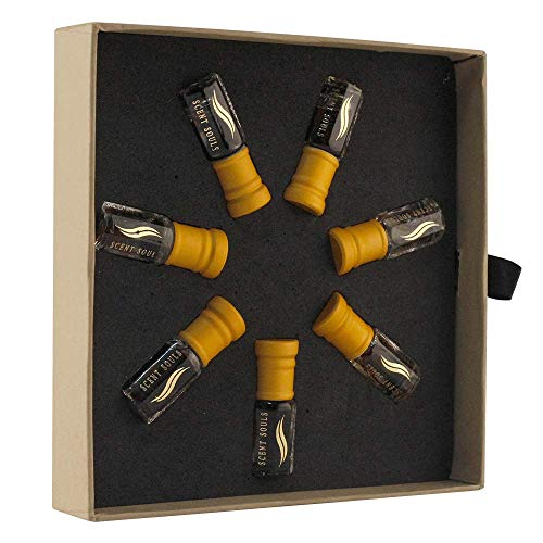 Scent Souls Cairo Collection Seven Days Set Attar Perfume Oil For Men- 3 ml Each