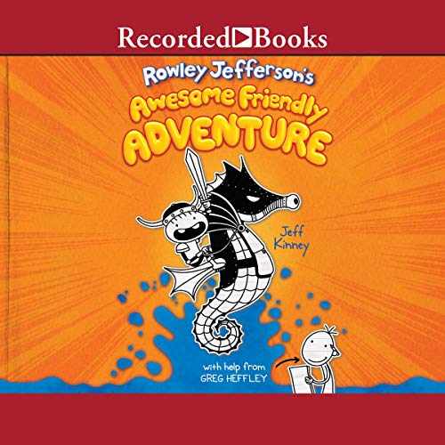 Page de couverture de Rowley Jefferson's Awesome Friendly Adventure