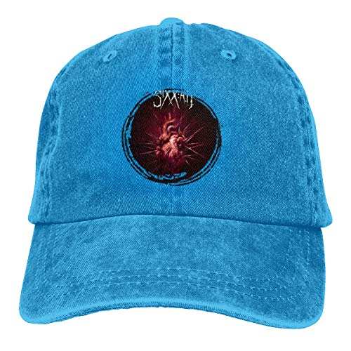 Donmlier Golf Hat Logo of Sixx Am This is Gonna Hurt Stylish Men's&Womens Denim Hats Adjustable