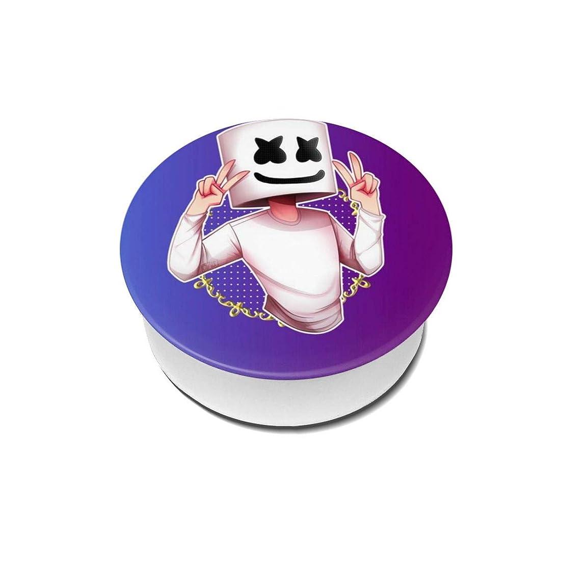 サイクロプス項目幹Yinian 4個入リ マシュメロ Marshmello スマホリング/スマホスタンド/スマホグリップ/スマホアクセサリー バンカーリング スマホ リング かわいい ホールドリング 薄型 スタンド機能 ホルダー 落下防止 軽い 各種他対応/iPhone/Android(2pcs入リ)