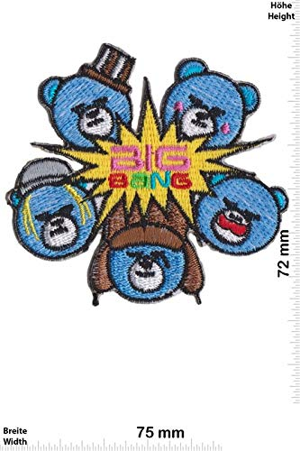 Big Bang Korea Pop Patch Badge Applique Geborduurd Ijzer op