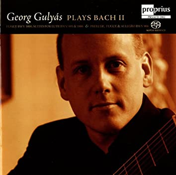 Georg Gulyas plays Bach, Vol. 2