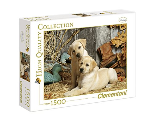 Clementoni- Hunting Dogs High Quality Collection Puzzle, Colore Neutro, 1500 Pezzi, 31976