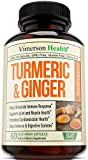 Turmeric Curcumin with Ginger, Bioperine. Occasional Joint Pain Relief, Supports...
