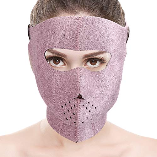 GOTOTOP V-Line Chin Cheek Lift Up Band, Face Full Cover Shaper Minceur Strap Anti Rides Bandage Double Chin Reducer Beauty Band pour Les Femmes