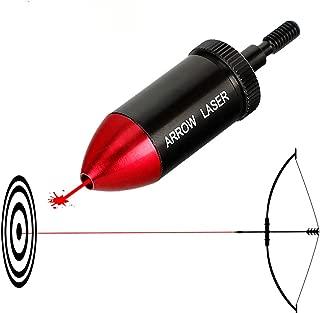 Hygoo Arrow Bore Sight Red Dot Laser Boresighter Archery Crossbow Compound Bow Sight Tool Boresighter Sighting Tool boresight