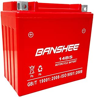Banshee YTX14-BS Maintenance Free Battery with 4 Year Warranty BAN14BS