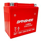 Replacement Maintenance Free Battery for GT650S BTX14-BS 4 YEAR WARRANTY