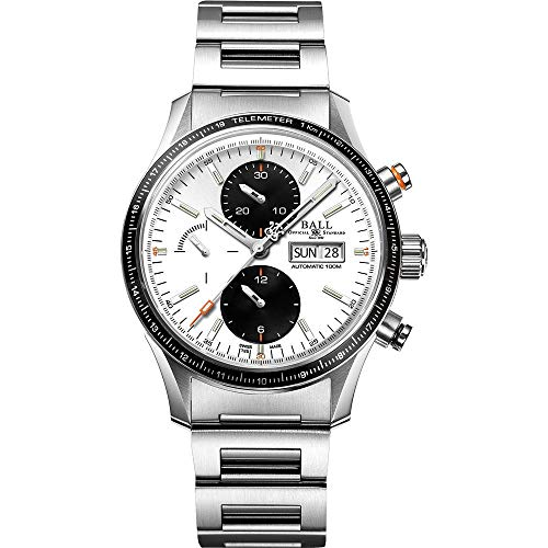 Ball Men's Case Quartz Analog Watch CM3090C-S1J-WH