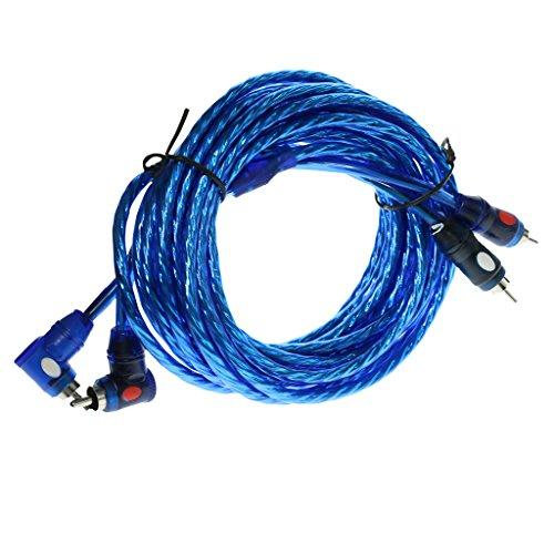 Sharplace 2RCA Mâle à 2RCA Câble Mâle Câble Audio,Câble Audio Stéréo - 4.5m