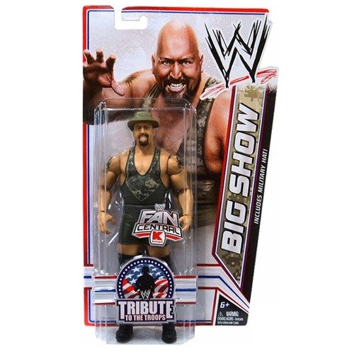 Mattel WWE Wrestling Exclusive Tribute To The Troops Action Figure Big Show by Mattel Toys (English Manual)