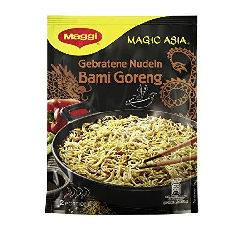 MAGGI Magic Asia Gebratene Nudeln Bami Goreng, leckeres Fertiggericht, Instant-Nudeln, asiatisch gewürzt, 12er Pack (12 x 120 g)