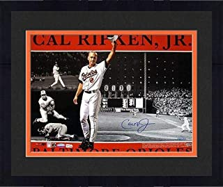 Framed Cal Ripken Jr. Baltimore Orioles Signed 16x20 Photo Collage ~Limited Edition of 2000~ (Ironclad/MLB Authentic) - Steiner Sports Certified