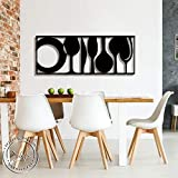 Dimension : length - 60 cm ,Width-30 Cm , Thickness - 1.1 Cm Add This To Your Home Decoration Accents.Comes Pre-Finished In Black It's A Sweet Sign For Hanging On A Wall Or Front Door To Create A Vintage Feel Made To Adorn Walls, It is Stickable on a...