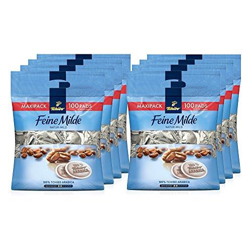 Tchibo Feine Milde Kaffee-Pads, 800 Stück (8 x 100 Pads)