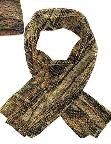 Outdoor Saxx® – Tour de cou multifonction, écharpe, bandeau, bandeau, camouflage pour extérieur, chasse, pêche, militarie, tissu en maille, véritable camouflage