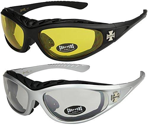 Choppers - Confezione da 2 occhiali da sole con