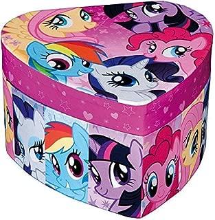 My Little Pony Heart Shaped Jewellery Box with Mirror (Cardboard)