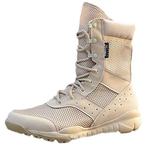 shoes Sommer Männer und Frauen Taktische Stiefel superleichte atmungsaktive Wüstenstiefel, 38-45 Outdoor-Bergsteigen Wanderschuhe Kampfstiefel Militärstiefel