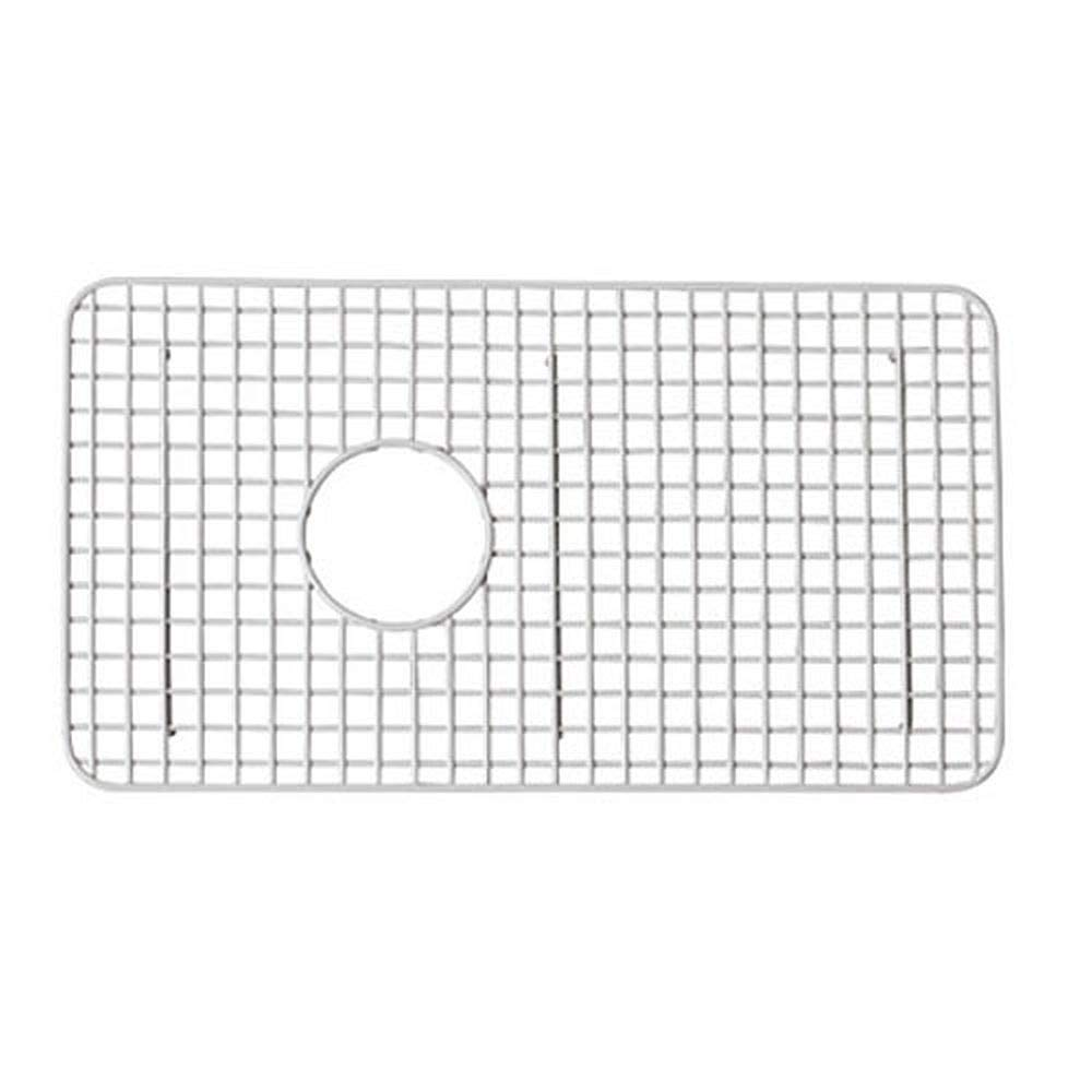 Rohl Wsg3018wh 14 5 8 Inch By 26 1 2 Inch Wire Sink Grid For Rc3018 Kitchen Sinks In White Abcite Vinyl Shaw Sink Grid Amazon Com