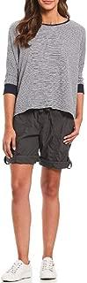 Calvin Klein Performance Poplin Cargo Shorts Charcoal 2XL
