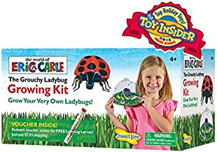 Insect Lore World of Eric Carle, The Grouchy Ladybug Growing Kit with Voucher