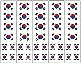 40 Tattoos: South Korean Flag, Korea Party Favors