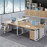 Mesa de oficina y silla combinación Simple moderno...