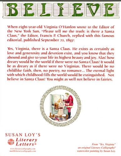 Yes Virginia Christmas Card Photo #3