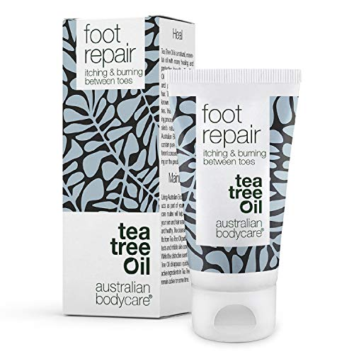 Australian Bodycare Foot Repair | Natural Gel for Women & Men for Foot Care | Itching, Burning, Redness between Toes | Also for Supporting Care for Foot Fungus | With Australian Tea Tree Oil | 50ml