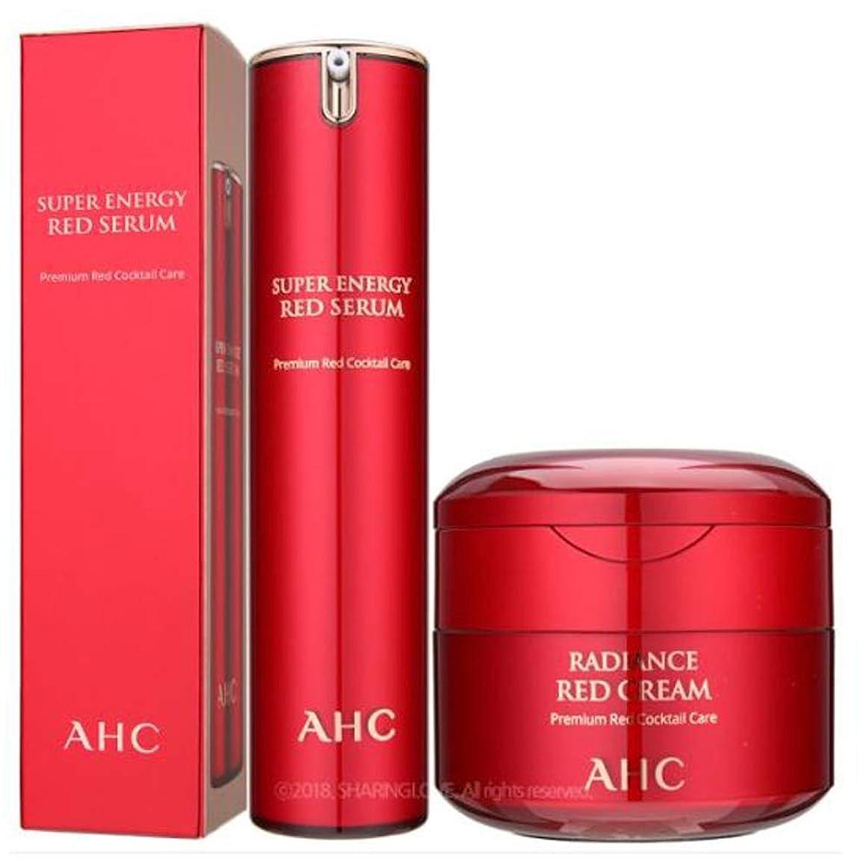 チャップファイター続編AHC Season2 Super Energy Red Serum 50ml&AHC Season2 Super Energy Red Cream 50ml [parallel import goods]