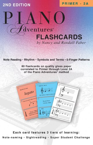 Faber Piano Adventures: Piano Adventures Flashcards In-A-Box