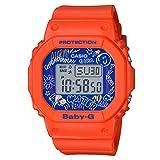 [カシオ] 腕時計 ベビージー Graffiti Face BGD-560SK-4JF レディース オレンジ