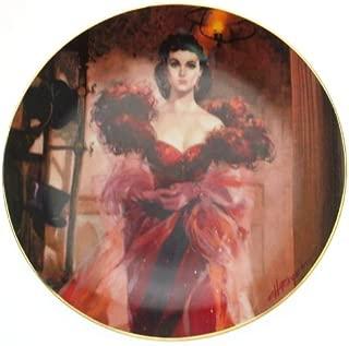Bradford Exchange W S George Gone with The Wind Golden Anniversary Series Scarlett's Resolve Plate CP1821
